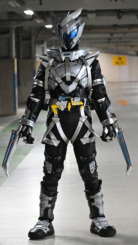 假面骑士01:亡设计图公开,原型是日本狼,设计图比皮套