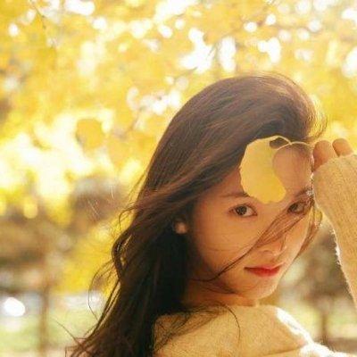 章若楠清新可爱高清头像,2018长发女生头像,温柔清纯