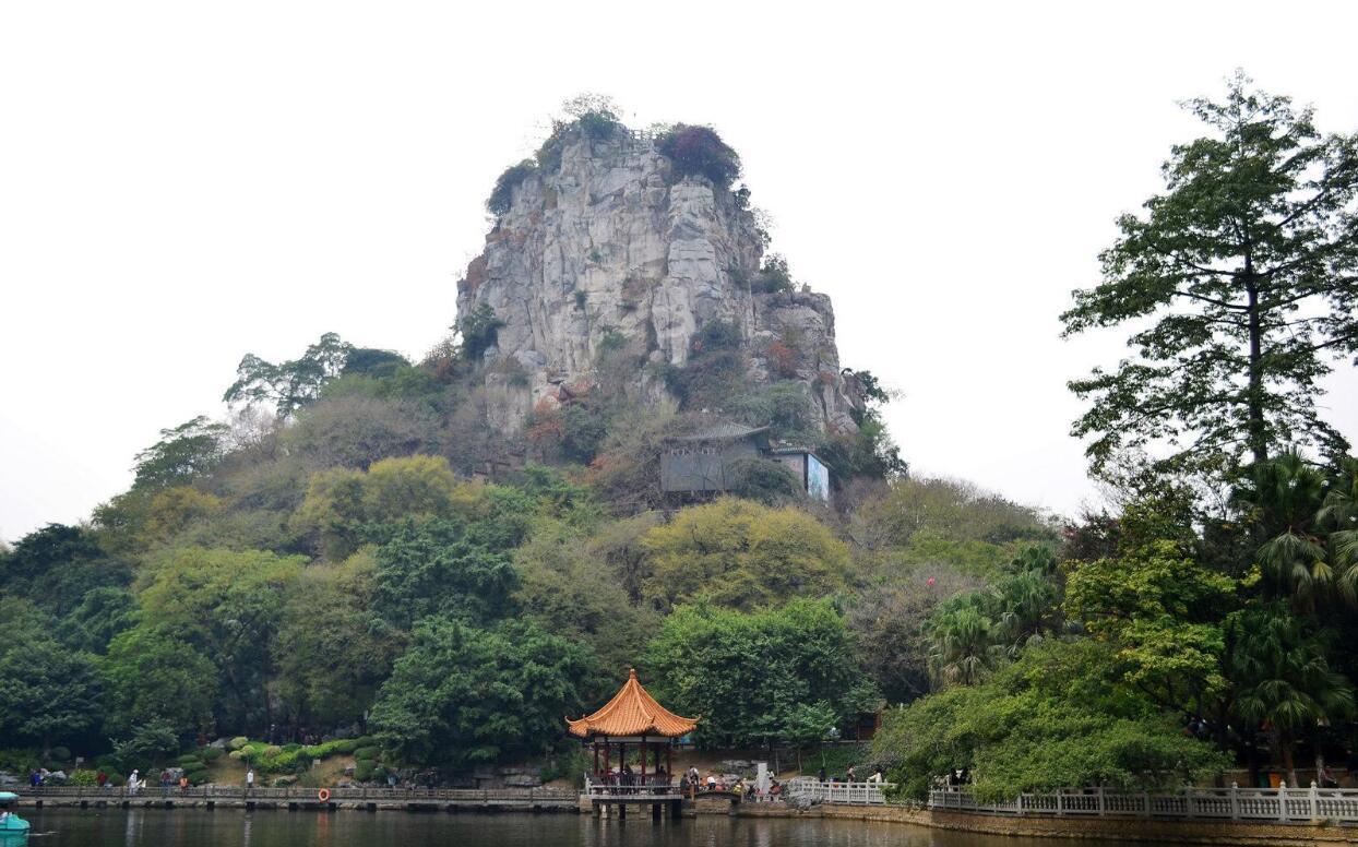 盘点风景很好的景点,你去过安庆湖北天柱山,上海市鲁迅公园吗