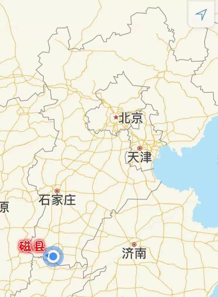 磁县最新限行地图