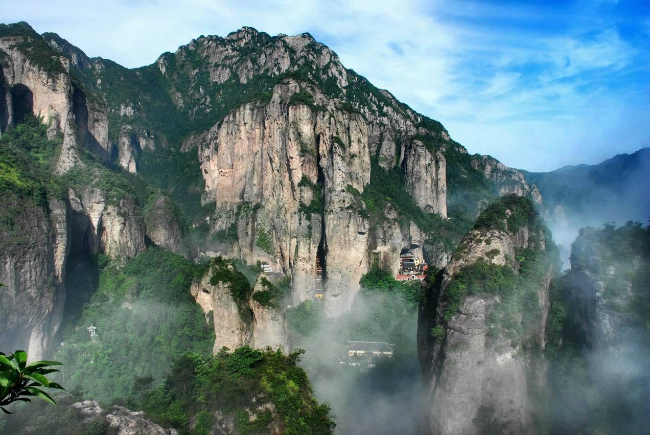 盘点空气很清新的国家级风景名胜区,你去过广元剑门蜀道,郴州东江湖