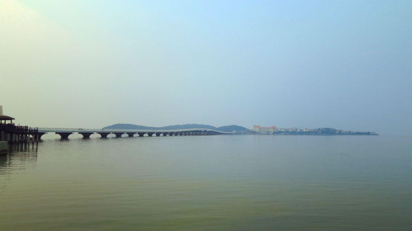 除了苏州太湖风景区,深圳东部华侨城大峡谷,适合拍照