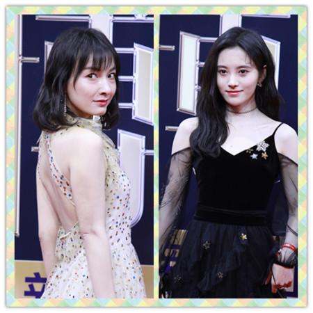 吴昕身材也不错,就算和穿黑裙的鞠婧祎站一起,时尚感也不输 实用小技巧 第10张